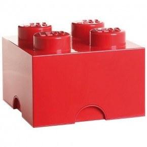 LEGO Förvaring 4 - Röd