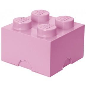 LEGO Förvaring 4 - Ljusrosa