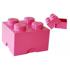 LEGO Förvaring 4 - Rosa