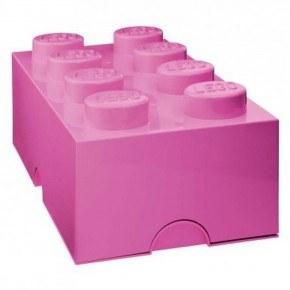 LEGO Förvaring 8 - Rosa