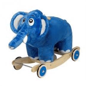 Krea Bodil Elefant Gunghäst - Blå