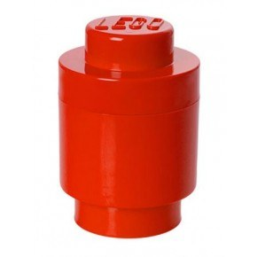 LEGO Förvaring 1 Rund - Röd