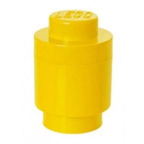 LEGO Förvaring 1 Rund - Gul