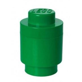 LEGO Förvaring 1 Rund - Grön