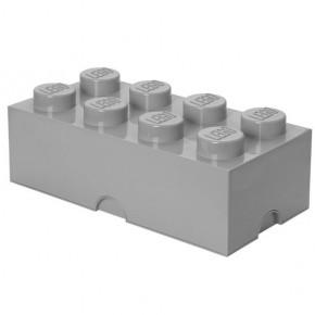 LEGO Förvaring 8 - Grå