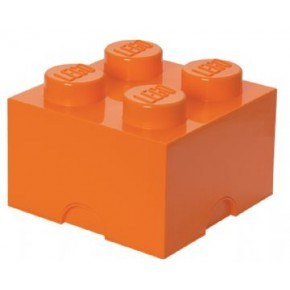 LEGO Förvaring 4 - Orange