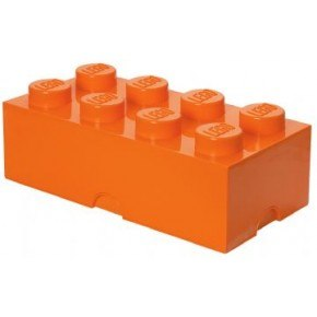 LEGO Förvaring 8 - Orange