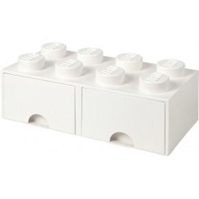 LEGO Förvaring 8 - Vit