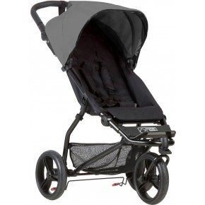 Mouintain Buggy Mini Sittvagn - Silver