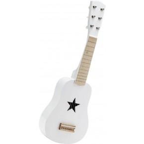 Kids Concept Leksaksgitarr - Vit