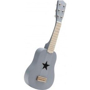 Kids Concept Leksaksgitarr - Grå
