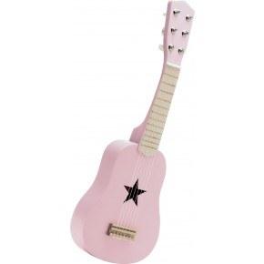 Kids Concept Leksaksgitarr - Rosa