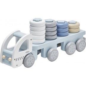 Concept Stapelklossar Lastbil - Blå