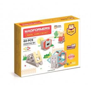 Magformers Animal Jumble konstruktions-set med 60 delar