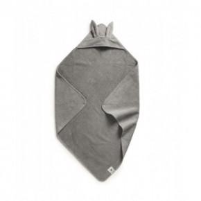 Elodie Details Marble Grey Badcape - Grå