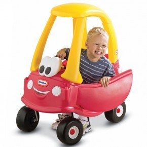 Little Tikes Cozy Coupe Gåbil - Röd/Gul