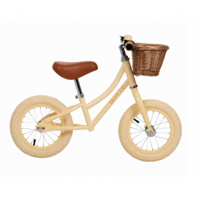 Banwood First Go Balance Bike Springcykel - Vanilla