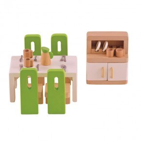 Hape Dockskåpsmöbler - Matsal