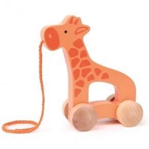 Hape Push & Pull Giraff