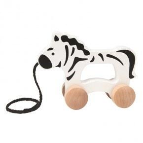 Hape Push & Pull Zebra