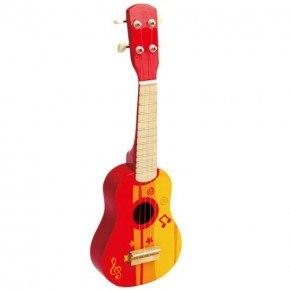 Hape Guitar - Röd
