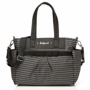 Babymel London Skötväska Cara - Stripe Grey