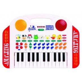 3-2-6 Orgel & Djur Musik Instrument - Multi