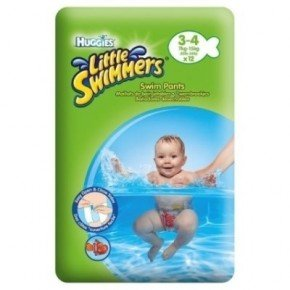 Huggies Little Swimmers 7-15 kg Badblöjor