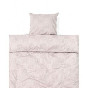 Smallstuff Elefant Babysängkläder - Rosa