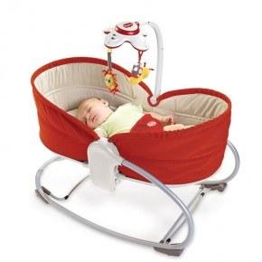 Tiny Love 3-i-1 Rocker Babysitter - Röd