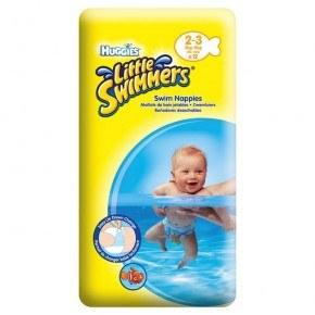 Huggies Little Swimmers 3-8 kg Badblöjor