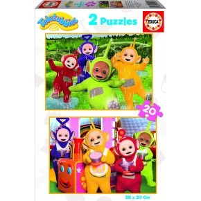 Educa 2x20 Teletubbies Pussel