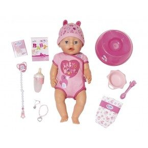 Baby Born Soft Touch Girl - Blue Eyes Docka
