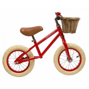 Banwood First Go Balance Bike Springcykel - Red