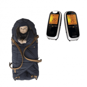 Sleepbag Åkpåse Midnight Petrol + Neonate 6500 Babyvakt