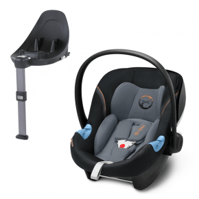Cybex Aton M i-size Babyskydd + Base M i-size - Svart/Grå