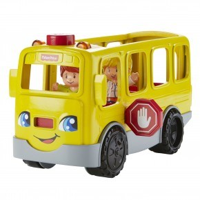 Fisher Price Skolbuss - Gul