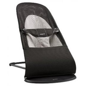 BabyBjörn Balance Soft Mesh Babysitter - Svart/Grå