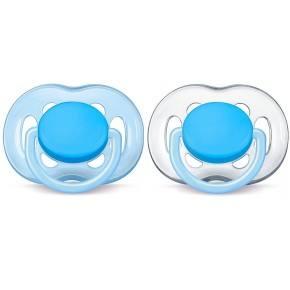 Philips Avent Freeflow Nappar 2-pack - Blåtransparent