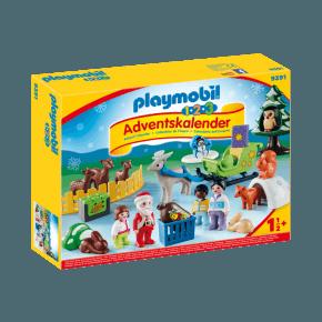 Playmobil 1.2.3 Julekalender - 9391
