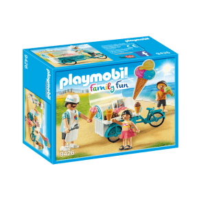 Playmobil Family Fun Glassvagn