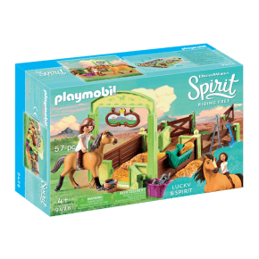 Playmobil Horse Box Lucky and Spirit - 9478