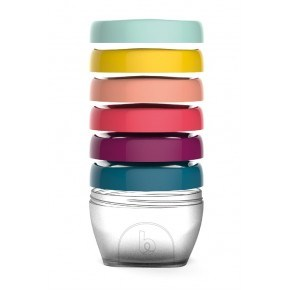 Babymoov Matlådor250ml. 6-pack - Multicolor