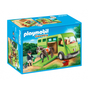 PLAYMOBIL Hästtransport - 6928