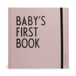 Design Letters Baby's First Book - Rosa