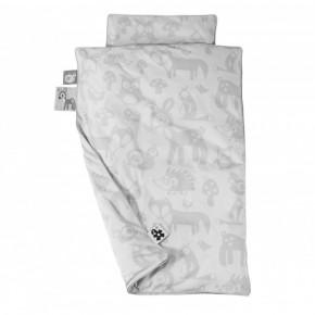 Sebra Forest Baby Sängkläder - Grå