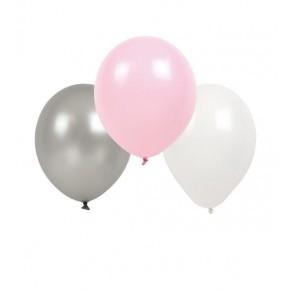 JaBaDaBaDo Ballonger 9-pack - Rosa