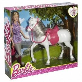 Barbie Ryttare Och Häst