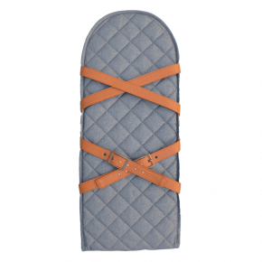 SLEEPBAG Stödplatta med remmar - Grå melange