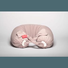 Bbhugme Gravid- och Amningskudde - Ljus Rosa